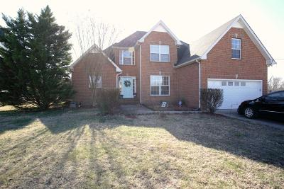 Murfreesboro Single Family Home Under Contract - Showing: 129 Silverstone Dr