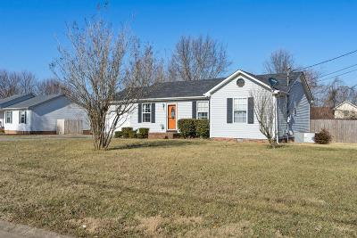 Oak Grove Single Family Home Under Contract - Showing: 929 Linda Drive