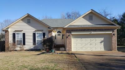 Mount Juliet Single Family Home Under Contract - Showing: 1045 Cedar Creek Village Rd