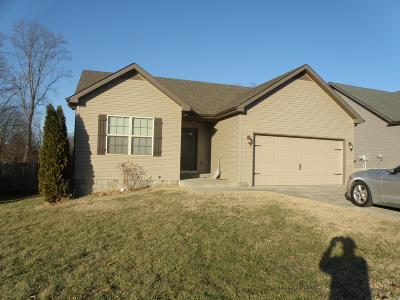 Clarksville TN Single Family Home For Sale: $163,900
