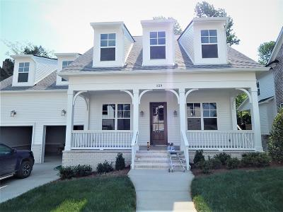 Franklin Single Family Home For Sale: 320 Circuit Rd, Lot 45