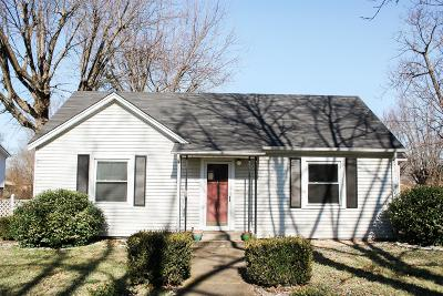 Sumner County Single Family Home Under Contract - Showing: 404 Gibson St