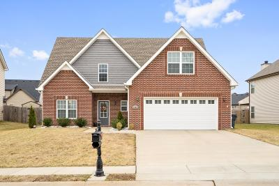 Clarksville Single Family Home Under Contract - Showing: 2968 McManus Cir