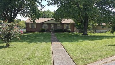 Goodlettsville Single Family Home Under Contract - Showing: 406 Gates Rd