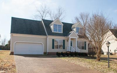 Williamson County Single Family Home Under Contract - Showing: 1821 Devon Dr