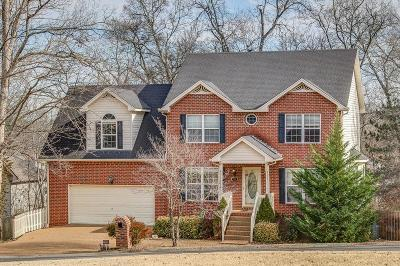 Hendersonville Single Family Home Under Contract - Showing: 115 Redbud Dr