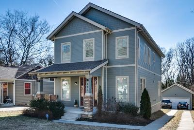 East Nashville Single Family Home Under Contract - Showing: 116 Creighton Ave