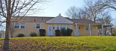 Clarksville Single Family Home Under Contract - Showing: 2002 Montgomery Parkway