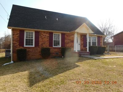 Clarksville Single Family Home For Sale: 389 Elaine Drive