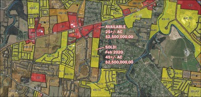 Rutherford County Residential Lots & Land For Sale: 2329 New Salem Hwy
