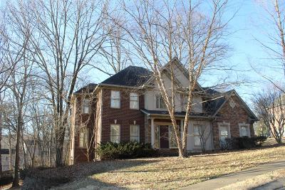 Hendersonville Single Family Home For Sale: 104 Chickamauga Dr