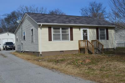Shelbyville Single Family Home Under Contract - Showing: 206 Austin Ave
