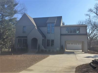 Nashville Single Family Home Under Contract - Showing: 4020 Outer Drive