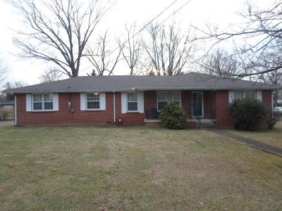 Shelbyville Single Family Home For Sale: 307 Rosemary Ln