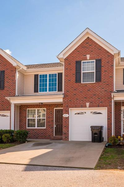 Murfreesboro TN Condo/Townhouse For Sale: $214,900