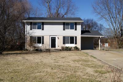 Clarksville TN Single Family Home Under Contract - Showing: $159,900