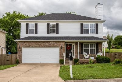 Spring Hill  Single Family Home Under Contract - Showing: 129 Baker Springs Ln