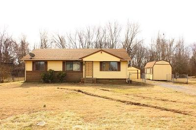Clarksville Single Family Home For Sale: 216 State Line Rd