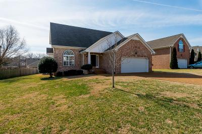 Mount Juliet Single Family Home Under Contract - Showing: 1309 Oakhall Ln