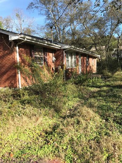 Davidson County Single Family Home Under Contract - Showing: 4505 Cato Rd