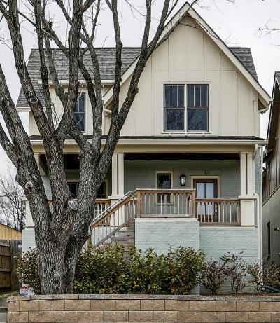 East Nashville Single Family Home For Sale: 1702 A Porter Rd