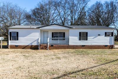 Murfreesboro Single Family Home For Sale: 1497 Rucker Ln
