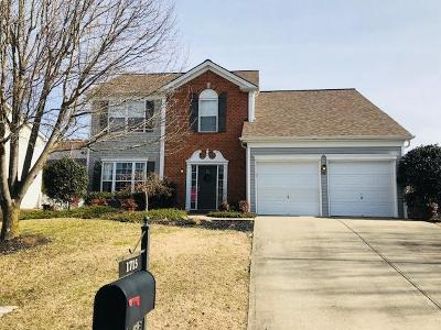 Mount Juliet Single Family Home Under Contract - Showing: 1715 Eagle Trace Dr