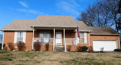 Mount Juliet Single Family Home Under Contract - Showing: 803 Marvin Layne Rd