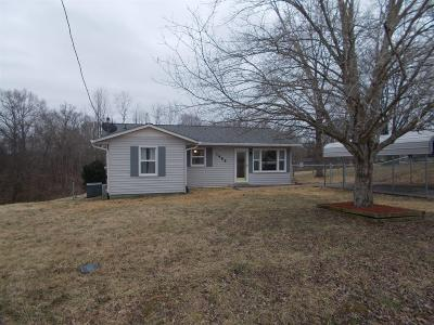 Ashland City Single Family Home Under Contract - Showing: 1488 Leo Baker Rd