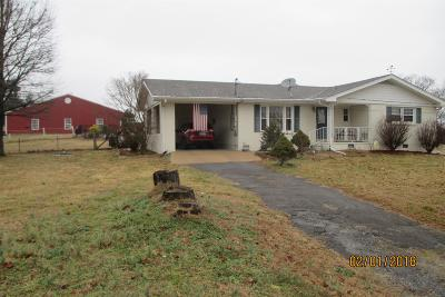 Shelbyville Single Family Home For Sale: 1436 Highway 64w