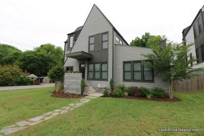 Single Family Home For Sale: 1801 McGavock Pike