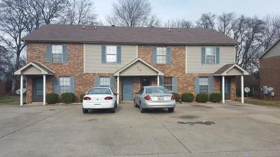 Christian County, Ky, Todd County, Ky, Montgomery County Rental For Rent: 109 #1 Hickory Trace
