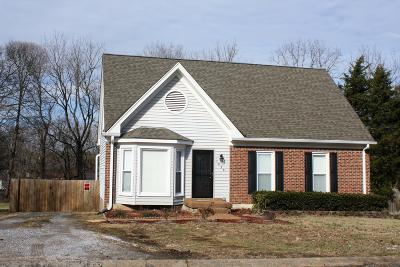Mount Juliet Single Family Home Under Contract - Showing: 1029 Rolling Meadow Dr