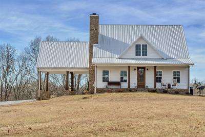 Robertson County Single Family Home Under Contract - Showing: 6619 Kelly Willis Rd