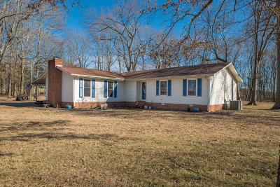 Shelbyville Single Family Home For Sale: 160 Hurricane Grove Rd