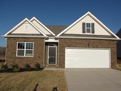 Clarksville Single Family Home For Sale: 249 Autumn Terrace Ln