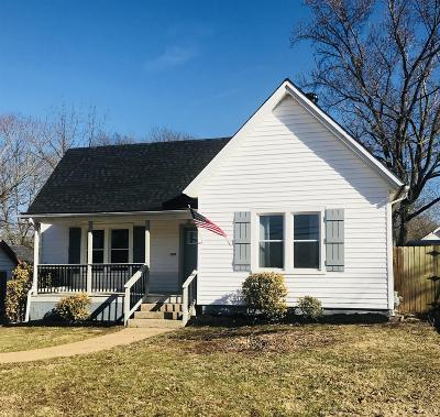Clarksville Single Family Home Under Contract - Showing: 759 Greenwood Ave