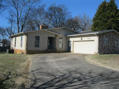 Hendersonville Single Family Home Under Contract - Showing: 205 Redondo Ct N