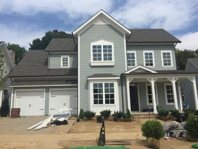 Franklin Single Family Home For Sale: 5036 Maysbrook Lane - Lot 6