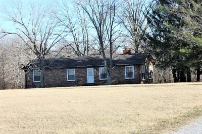 Woodbury Single Family Home Under Contract - Showing: 884 Finnie Simmons Rd
