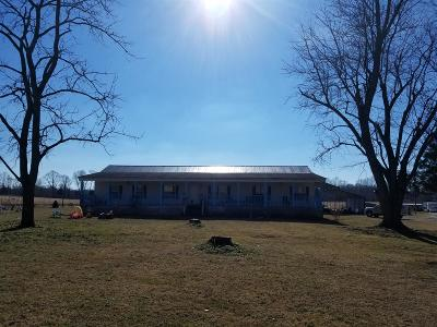 Bradyville Single Family Home Under Contract - Showing: 5876 Dickens Hill Rd