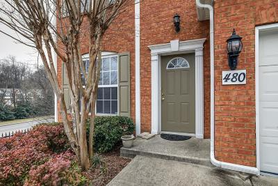 Brentwood Condo/Townhouse For Sale: 480 Old Towne Dr #480