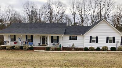 Single Family Home Sold: 672 Pine Grove Rd