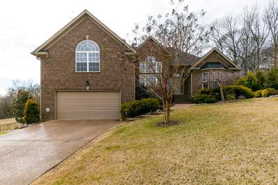 Mount Juliet Single Family Home Under Contract - Showing: 411 Boulder Creek Ct