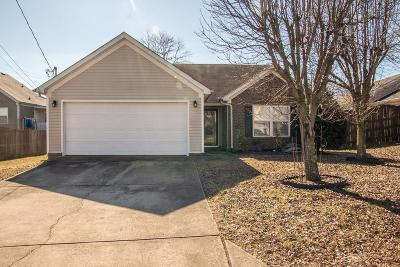 Lavergne Single Family Home Under Contract - Showing: 1503 James Gafford Dr