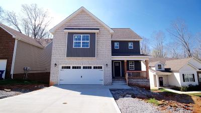 Clarksville Single Family Home For Sale: 2574 Alex Overlook Way