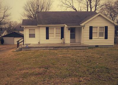 Maury County Single Family Home For Sale: 1107 Sunset Dr
