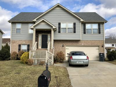 Clarksville Single Family Home For Sale: 583 Press Grove Dr