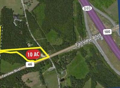 Williamson County Residential Lots & Land For Sale: Hwy 100/Spencer Mill Rd