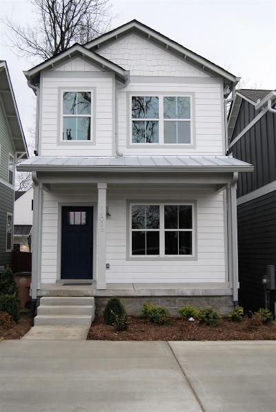 Nashville Single Family Home For Sale: 1402 B Otay St